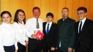 Игорь Гришин с первокурсниками из Краснодара